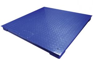 Plateforme de pesage du linge professionnelle ACIER, portée 1000kg et 3000kg. ( PT )