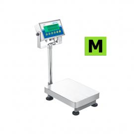 Balance de pesage avec colonne et indicateur,  homologuée, portée 6kg et 300kg. ( AGB ) et ( AGF )