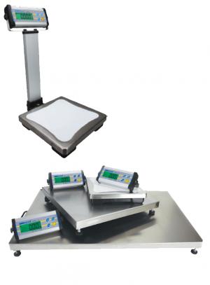 Balance de pesage Plateau Inox, boitier ABS, étanche, portée 6 à 300kg. ( CPWPlus )