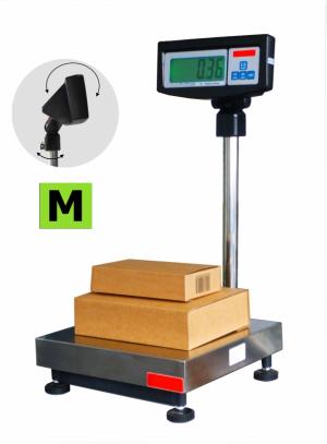 Balance de pesage avec colonne et indicateur, homologuée, portée 15 à 150kg. ( CV )