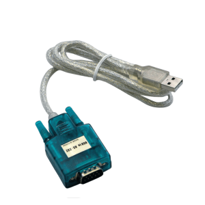 RS-232 vers câble interface USB.