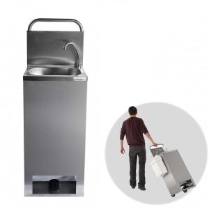 Lave-mains inox autonome sur roues