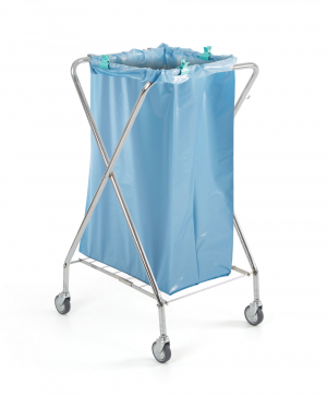 Chariot porte sac à déchets fixe DUST - 120L