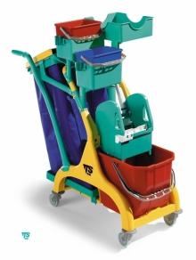 Mini Chariot de nettoyage ''NICK STAR 110