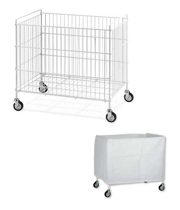 chariot linge pour blanchisserie. Black Bedroom Furniture Sets. Home Design Ideas