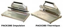 Scelleuse de sac PACK380 Impulsion/Thermique