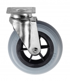 Option roue en diamètre 140mm pour chariots transport bagages