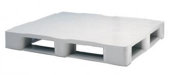 Palette Plastique Hygiénique 1200 x 1000 x 160m avec 5 semelles