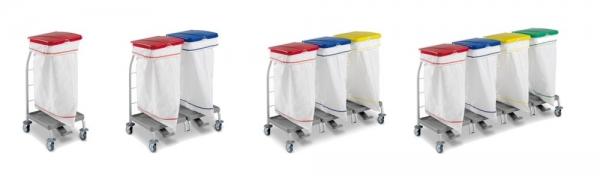 Porte-sacs STAUB, en plastique ABS et Rilsan