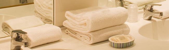 Serviettes éponges, draps de bain