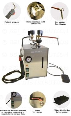 Générateur vapeur dentaire 5L INOX