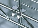 Tige de retenue + crochet de fixation métal