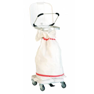 Chariot de collecte du linge sale - 1 sac
