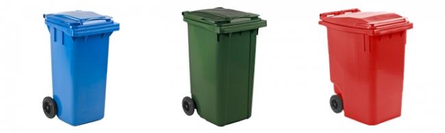 Conteneurs à déchets extérieurs