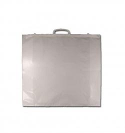 Housse à couette avec poignée rigide - Moyen modèle Transparent (100 pièces)