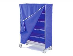 Housse de protection pour chariot à casiers / penderie