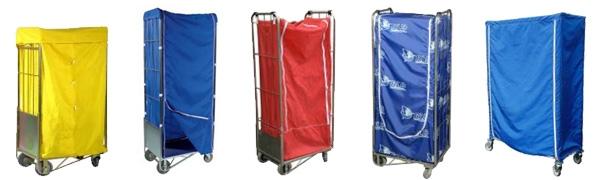 Housse de protection pour chariot Roll, Cabri, à casiers ...