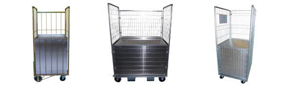 Chariot Roll et Cabri ergonomique - Fond remontant