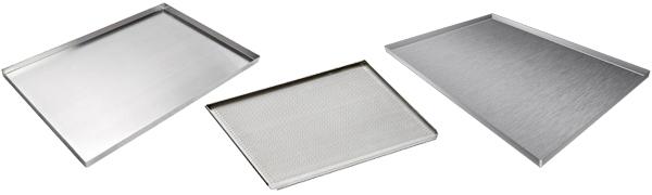 Plaques pâtissières de cuisson en Aluminium