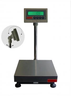 Balance de pesage avec colonne et indicateur, portée 15 à 150kg