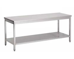 Table INOX de tri du linge - Largeur 600mm