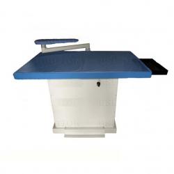 Table à repasser industrielle - Chauffante, aspirante et soufflante - Maxi plateau