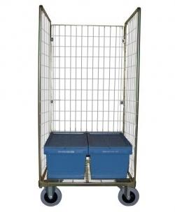 Chariot Roll pour caisse Euronorm 600x400 ou 600x800mm