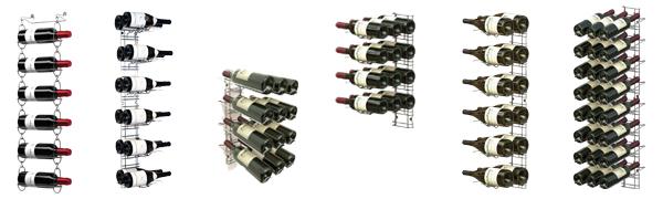 Casiers bouteilles de vin professionnels - Fixation murale