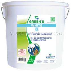 GREEN'R WHITE 5kg : Poudre de blanchiment à l'oxygène actif