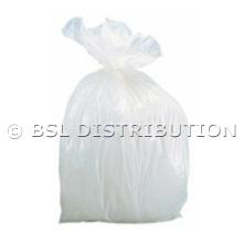 Sac poubelle 10L Blanc - Lot de 1000 sacs
