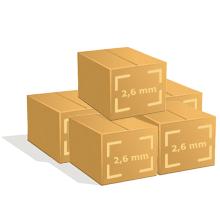5 Cartons de 400 cintres fer pressing
