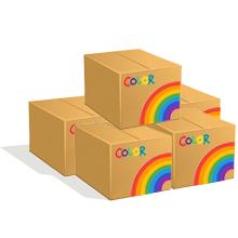 5 Cartons de cintres fer pressing colorés