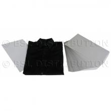 Plastrons carton pour chemises