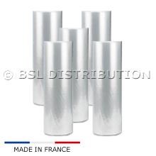 5 Rouleaux de film plastique 600mm Fendu / Dossé
