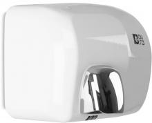 Sèche-main automatique en inox AISI 304 laqué blanc