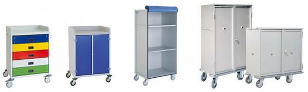 Armoires à linge - Equipement médical et matériel hospitalier