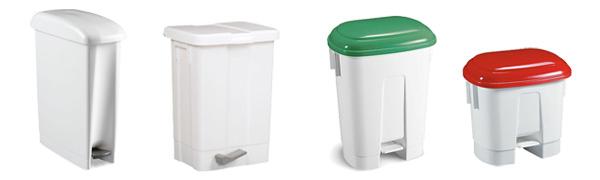 Poubelle plastique - Equipement maison de retraite