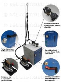 Centrale vapeur professionnelle chaudière INOX 5 litres