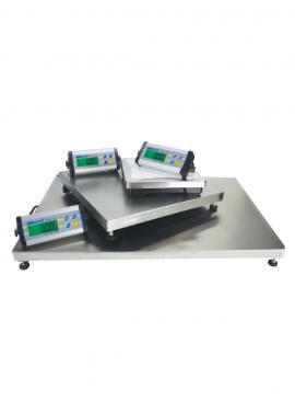 Balance de pesage Plateau Inox, boitier ABS, étanche, portée 6 à 300kg. CPWPlus