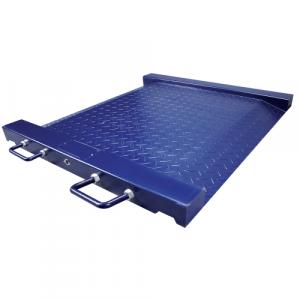 Plateforme de pesage du linge professionnelle, ACIER, portée 500kg. ( PTM )
