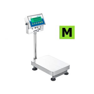Balance de pesage du linge homologuée avec colonne et indicateur, portée 6kg et 300kg. ( AGB ) et ( AGF )