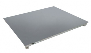 Plateforme de pesage du linge INOX, portée 150 à 3000kg. ( PVS Inox )