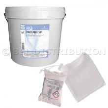 PROTABS 5kg : Tablette de lessive concentrée pour le linge. (125 pastilles de 40g)