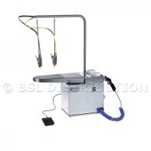 Table de détachage à froid FEDRA COMPACT en Acier Inoxydable.