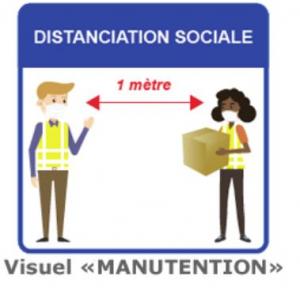 Affiches de prévention sanitaire - MANUTENTION