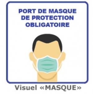Affiches de prévention sanitaire - MASQUE