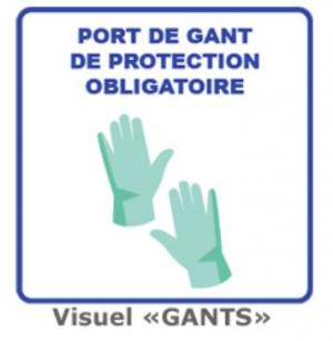 Affiches de prévention sanitaire - GANTS