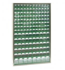 Armoire de 154 bacs basculants
