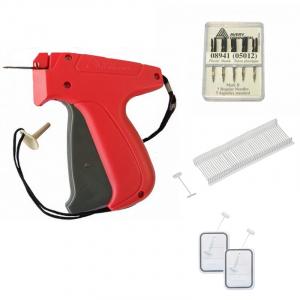 Étiquetage Dennison FIN :  Pistolet, aiguilles fines et fils nylon L35mm