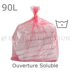 Sac à linge à ouverture soluble 90L - Eau froide